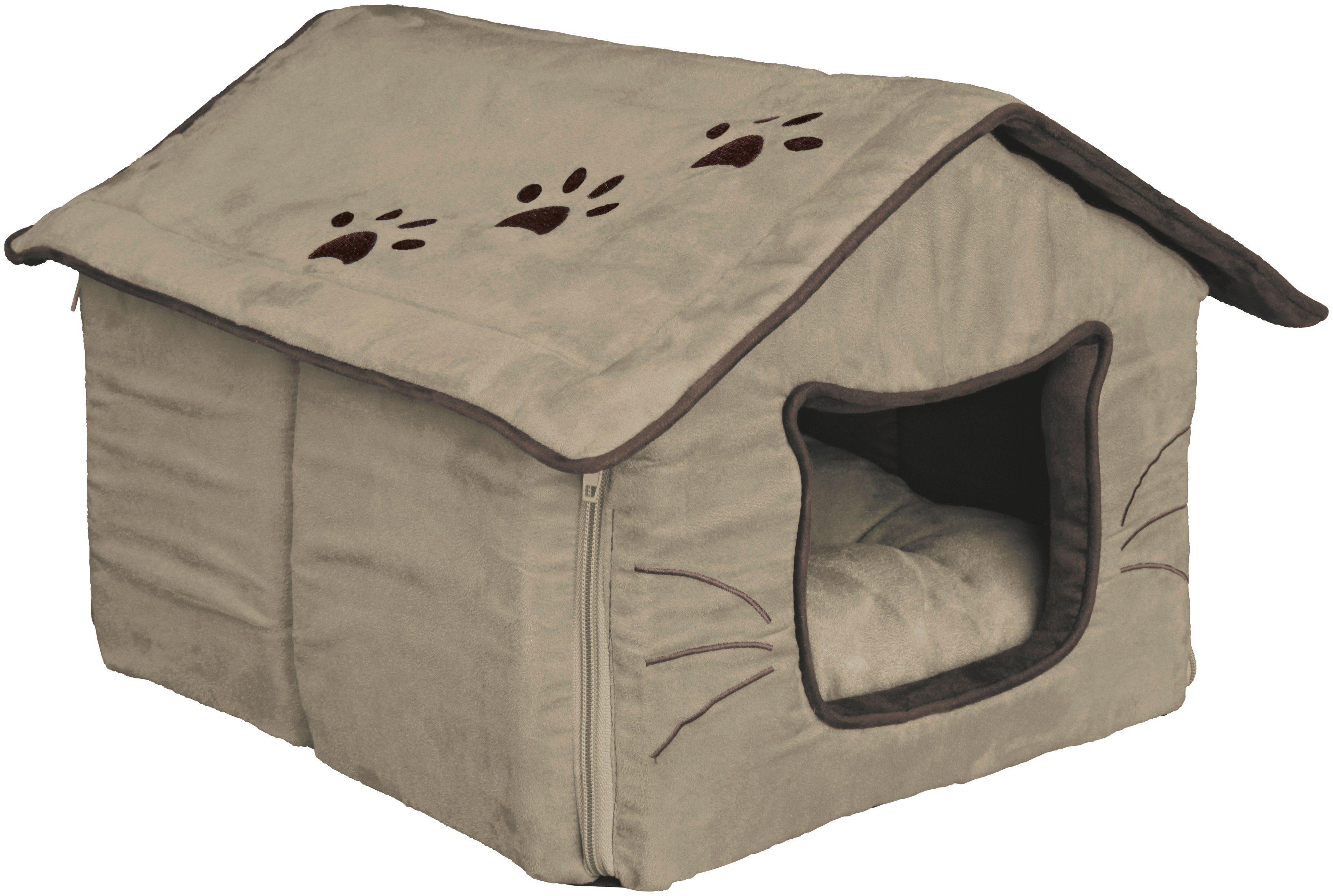 TRIXIE Hundehöhle und Katzenhöhle »Hilla«, B/L/H: 42/48/31 cm