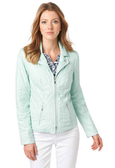 Bonita Moderne Jacke in Lederoptik Sale Angebote
