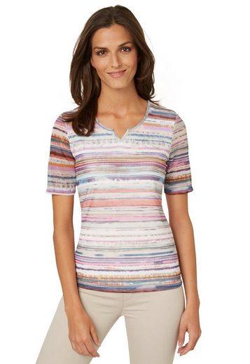 Bonita Feminines Shirt mit Mesh