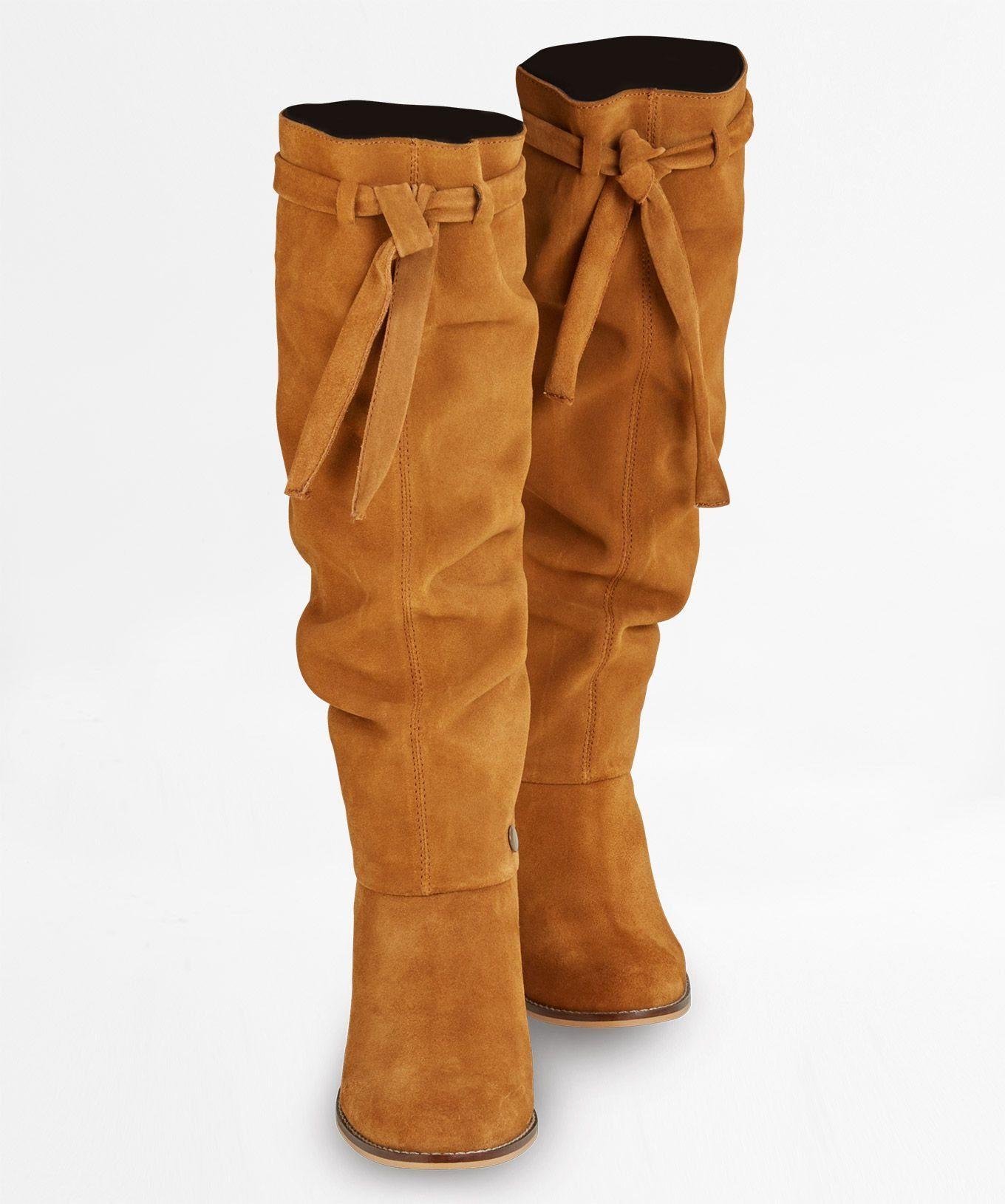 Joe Browns »Wildleder-Stiefel im Slouch-Stil« High-Heel-Stiefel