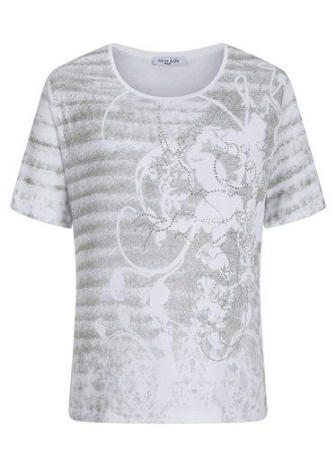 Hajo Geschmücktes Print-Shirt