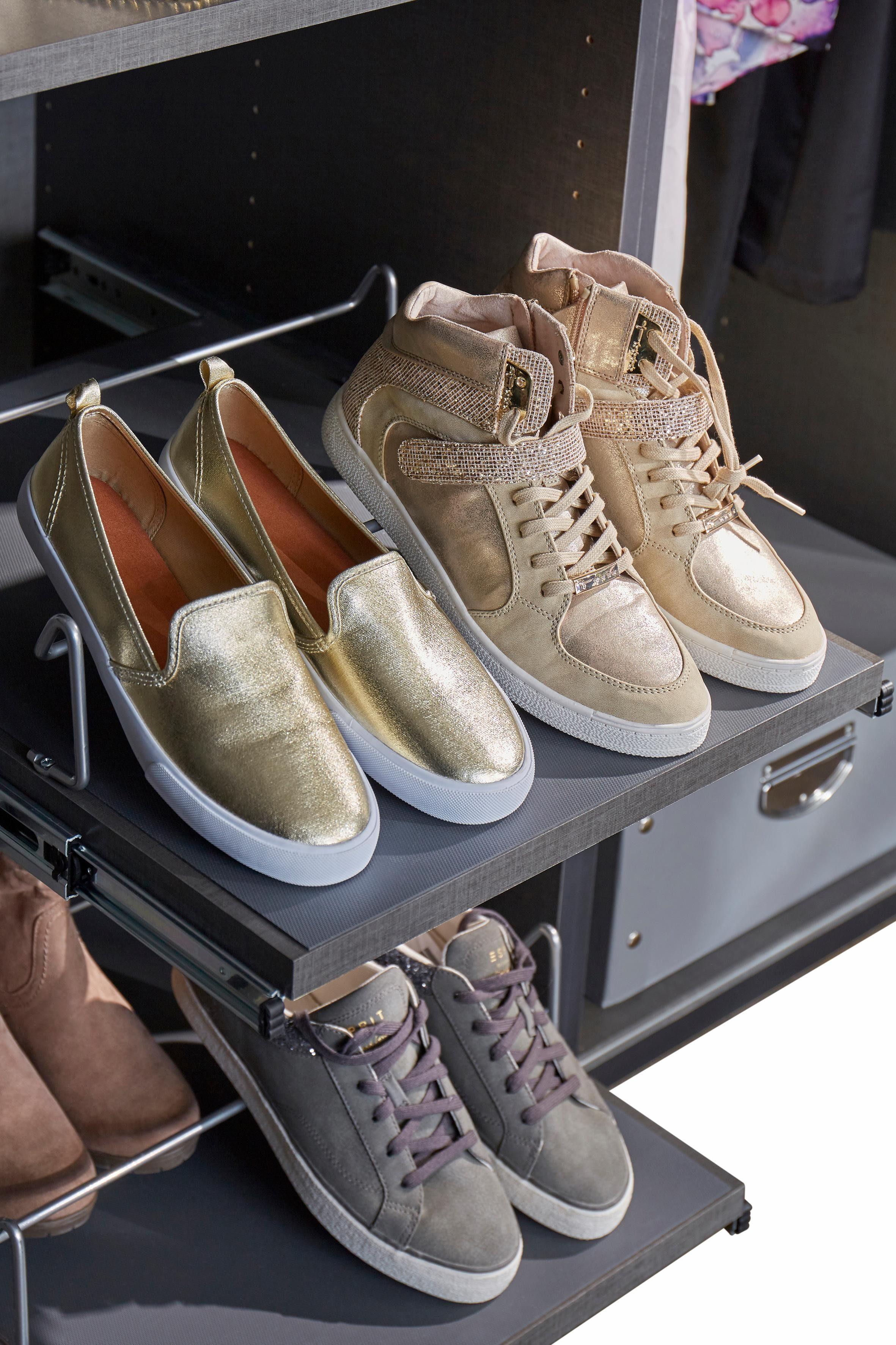GMK Home & Living Fachboden mit Schuhhalter »Evette«
