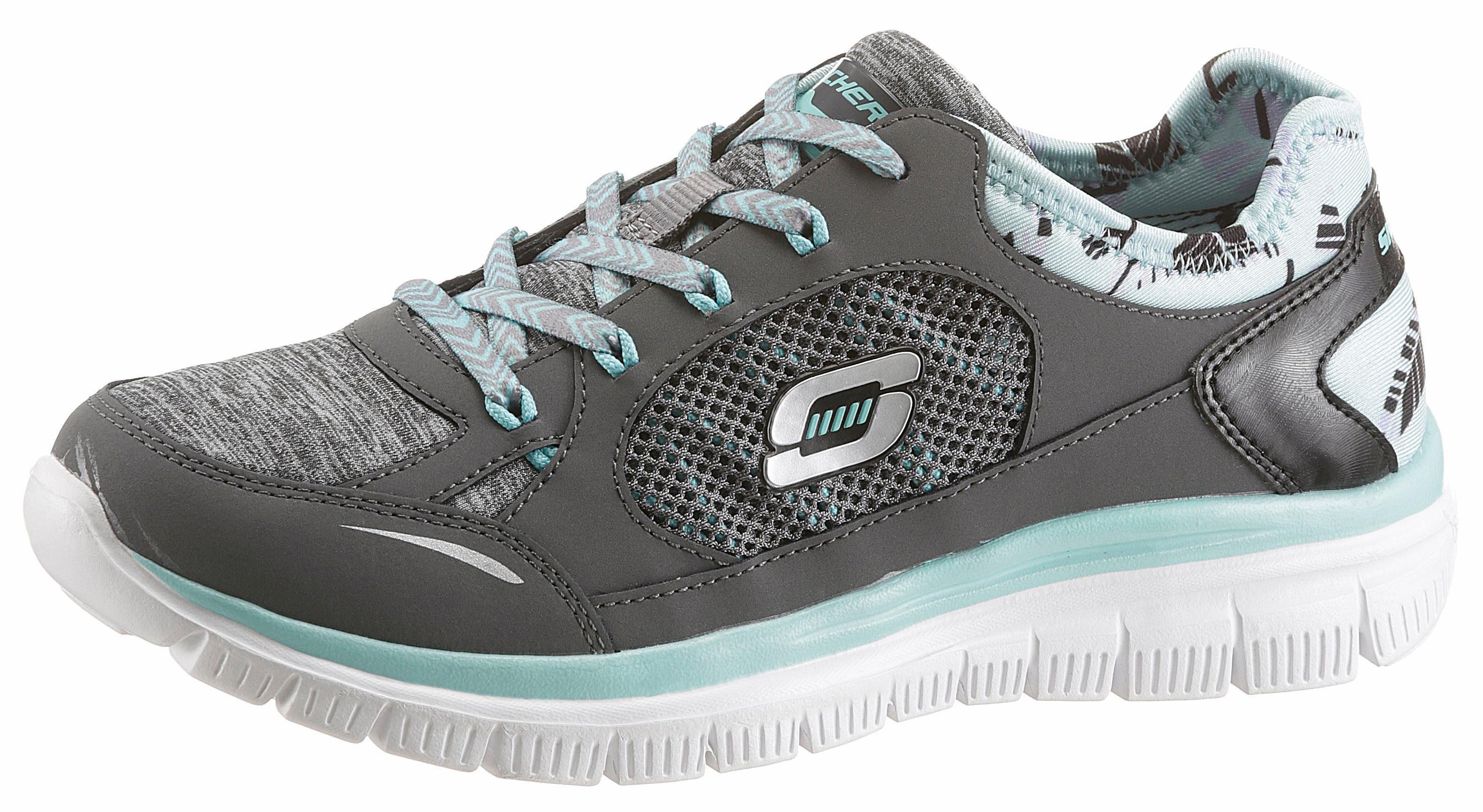 Skechers Sneaker, mit komfortabler Memory Foam, schwarz, 35 35