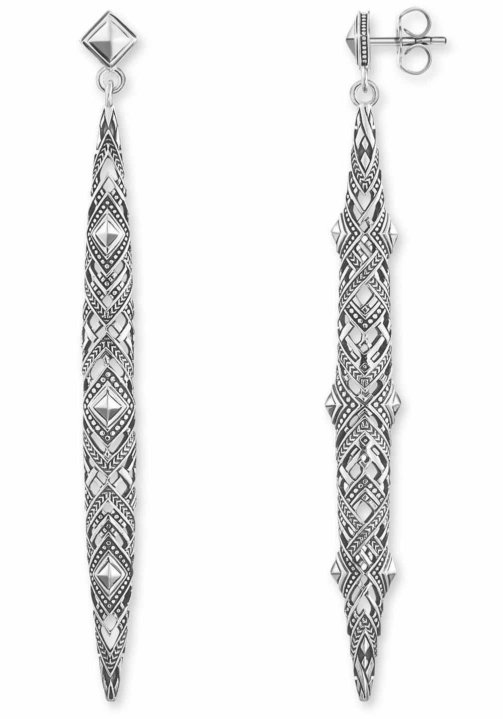 THOMAS SABO Paar Ohrstecker »Afrika Ornamente, H1931-637-21«