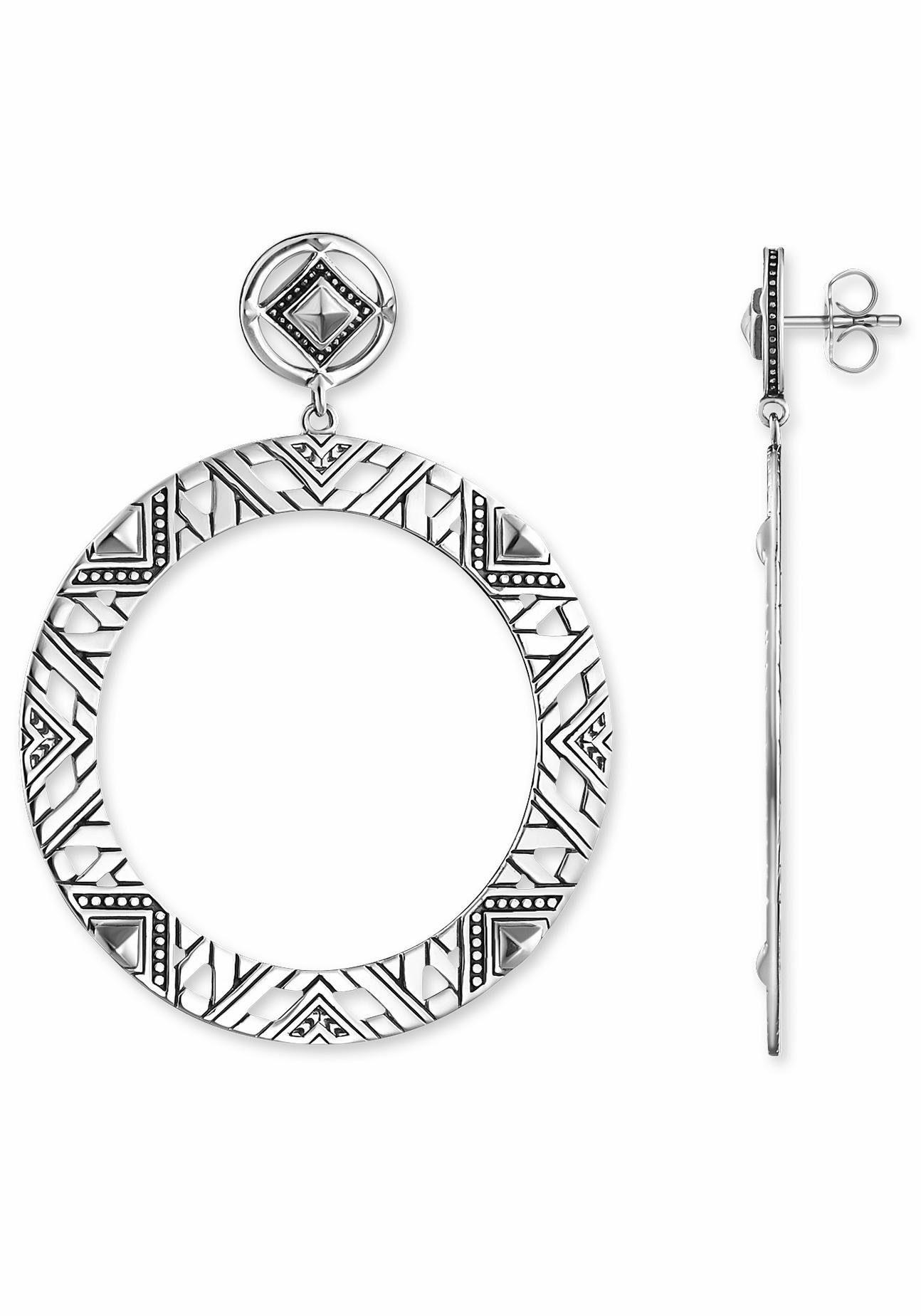 THOMAS SABO Paar Ohrstecker »Afrika Ornamente, H1930-637-21«