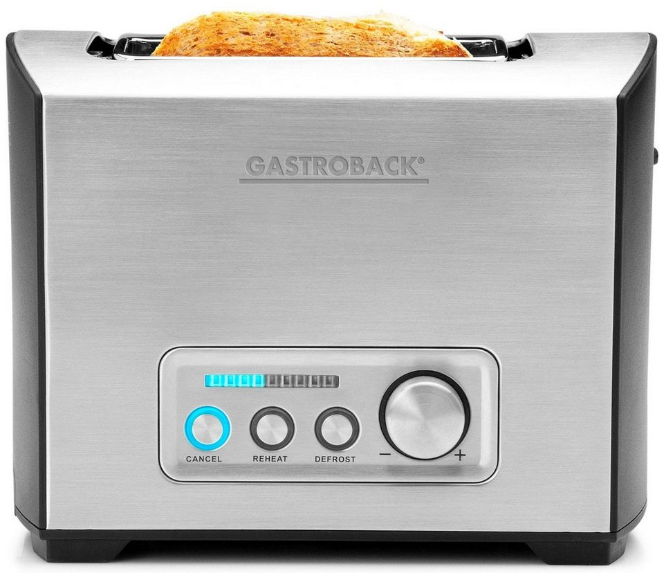 gastroback toaster design toaster pro 2s 42397 2. Black Bedroom Furniture Sets. Home Design Ideas