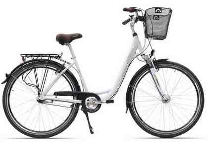 HAWK Bikes Cityrad »City Wave«, 7 Gang Shimano Nexus Schaltwerk, Nabenschaltung