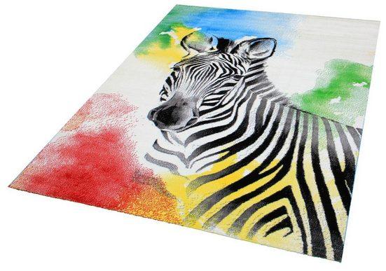 Kinderteppich »Bambino 2106«, Sanat, rechteckig, Höhe 11 mm, Zebra, Kurzflor Teppich