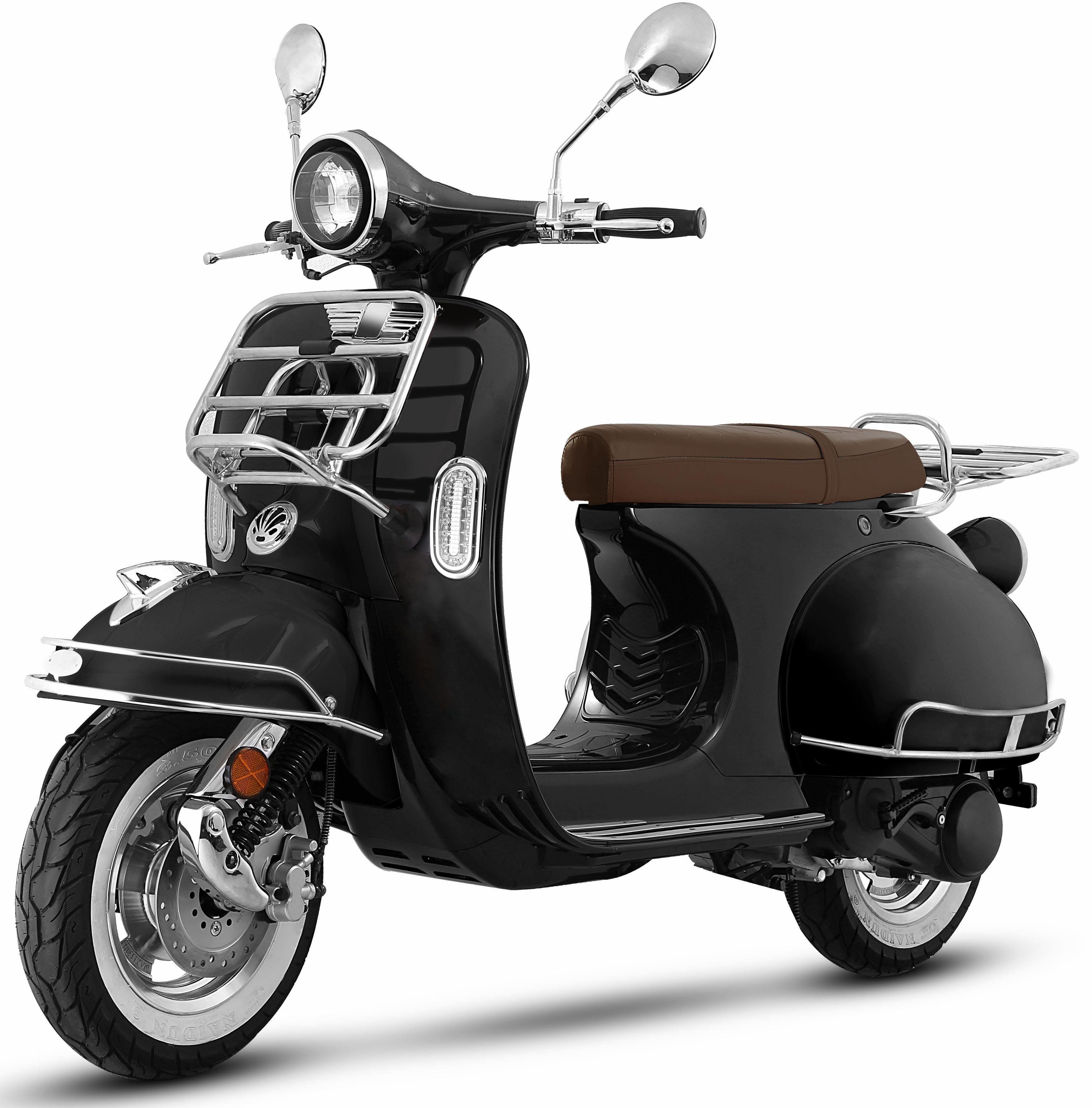 Nova Motors Motorroller, 125 ccm, 82 km/h, 7,07 PS, »Retro 69«