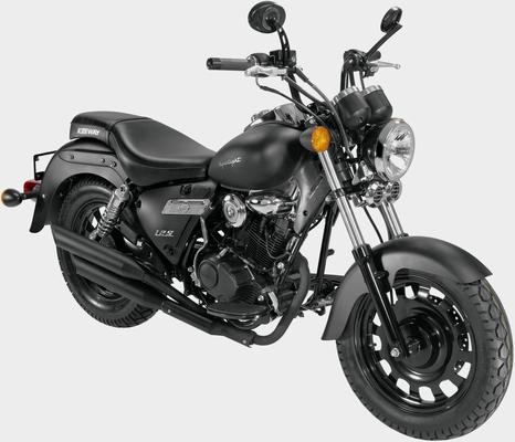 Keeway Motor Motorrad »Superlight«, 125 ccm, 95 km/h, Euro 4, 125 ccm, 95 km/h, 10,61 PS