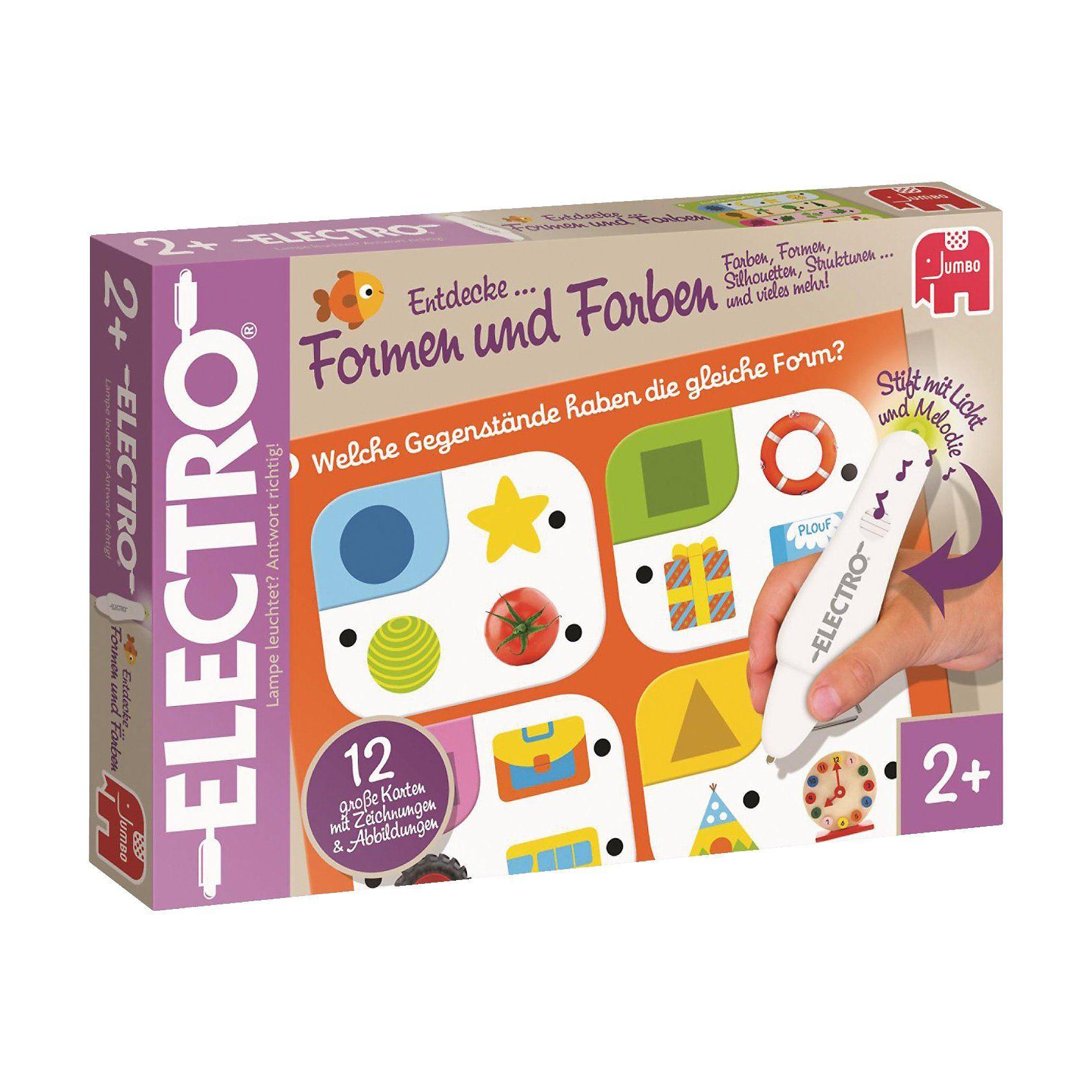 Jumbo Electro - Entdecke Formen & Farben