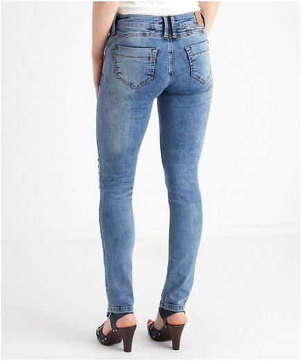 Joe Browns Slim-fit-Jeans Sassy Sequin Detail, Erntehose
