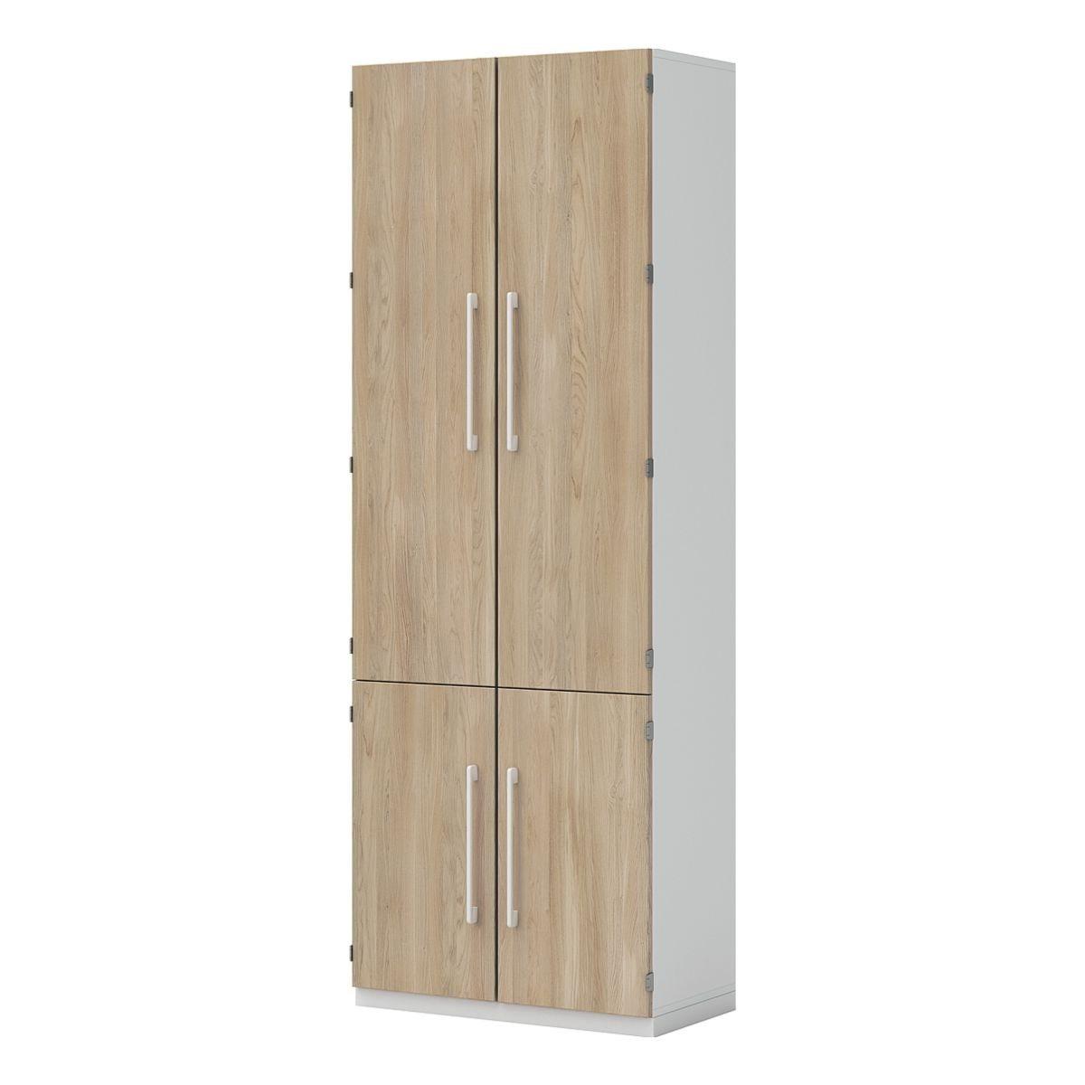 Aktenschrank 6 OH breit 4 Türen »Objekt Pur« | Büro > Büroschränke > Aktenschränke | Abs - Massivholz | KEINE MARKE