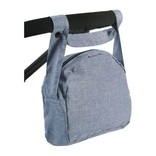 CHIC2000 Wickeltasche für Puppen, Jeans blau