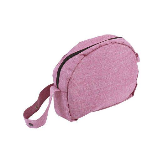 CHIC2000 Wickeltasche für Puppen, Jeans pink