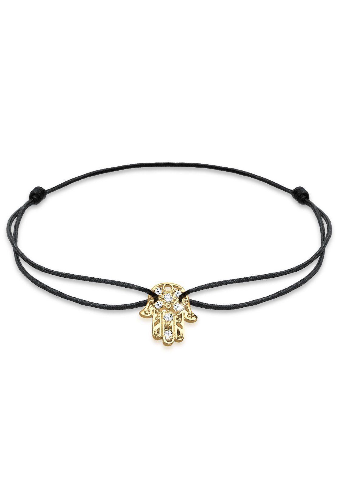 Goldhimmel Armband »Hamsa Hand Swarovski Kristalle 925 Sterling Silber«
