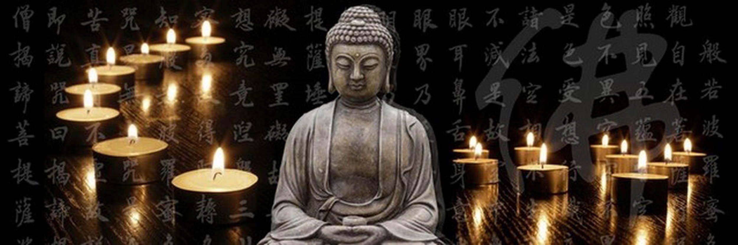 HTI-Living LED Bild »Buddha«