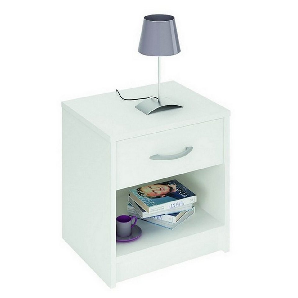 hti living nachttisch iris online kaufen otto. Black Bedroom Furniture Sets. Home Design Ideas