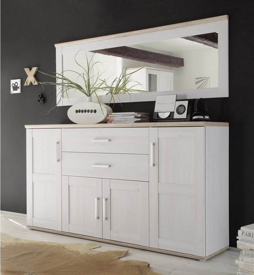 hti living sideboard kommode romance kaufen otto. Black Bedroom Furniture Sets. Home Design Ideas