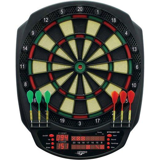 Carromco Elektronik dartboard Striker-401, mit Adapter, 3-Loch Abstan