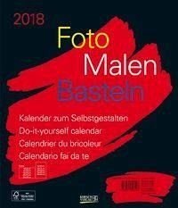 Kalender »Foto-Malen-Basteln schwarz 2018«