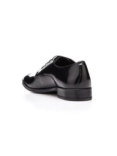 Bianco Elegante Schnür- Derby-Schuhe