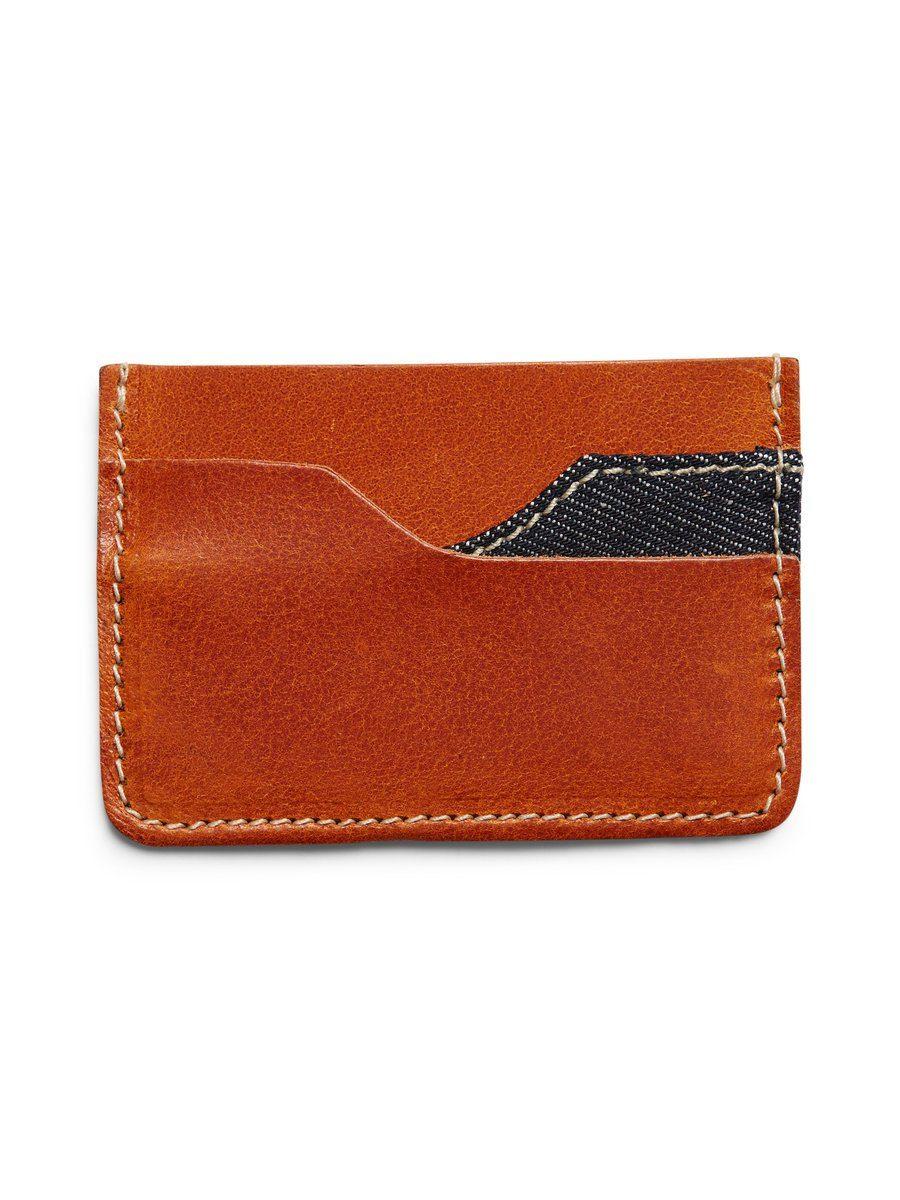 Jack & Jones Leder Kreditkartenhalter