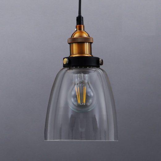 B.K.Licht Pendelleuchte »Sigma«, Deckenlampe Retro Pendel-Lampe Vintage Hängeleuchte Loft Edison E27