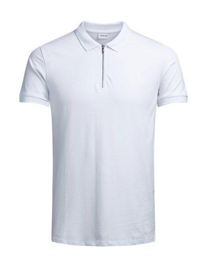 Jack & Jones Reißverschluss- Poloshirt