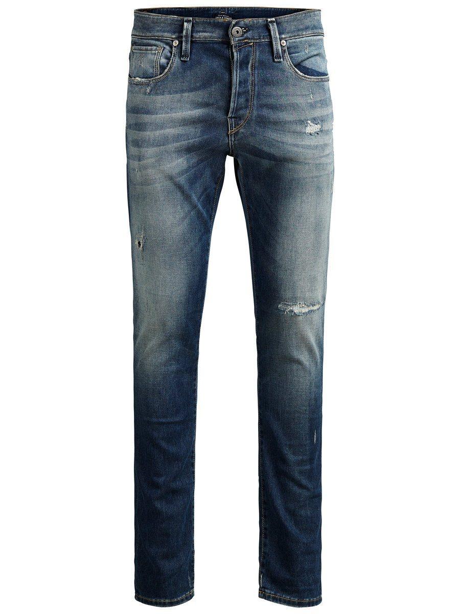 Herren Jack & Jones Glenn BL 670 Slim Fit Jeans blau   05713230837845