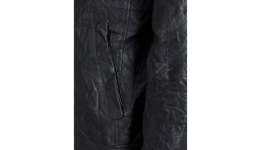 Jack & Jones Leder- Jacke Preiswerte Qualität VmwbbwoG