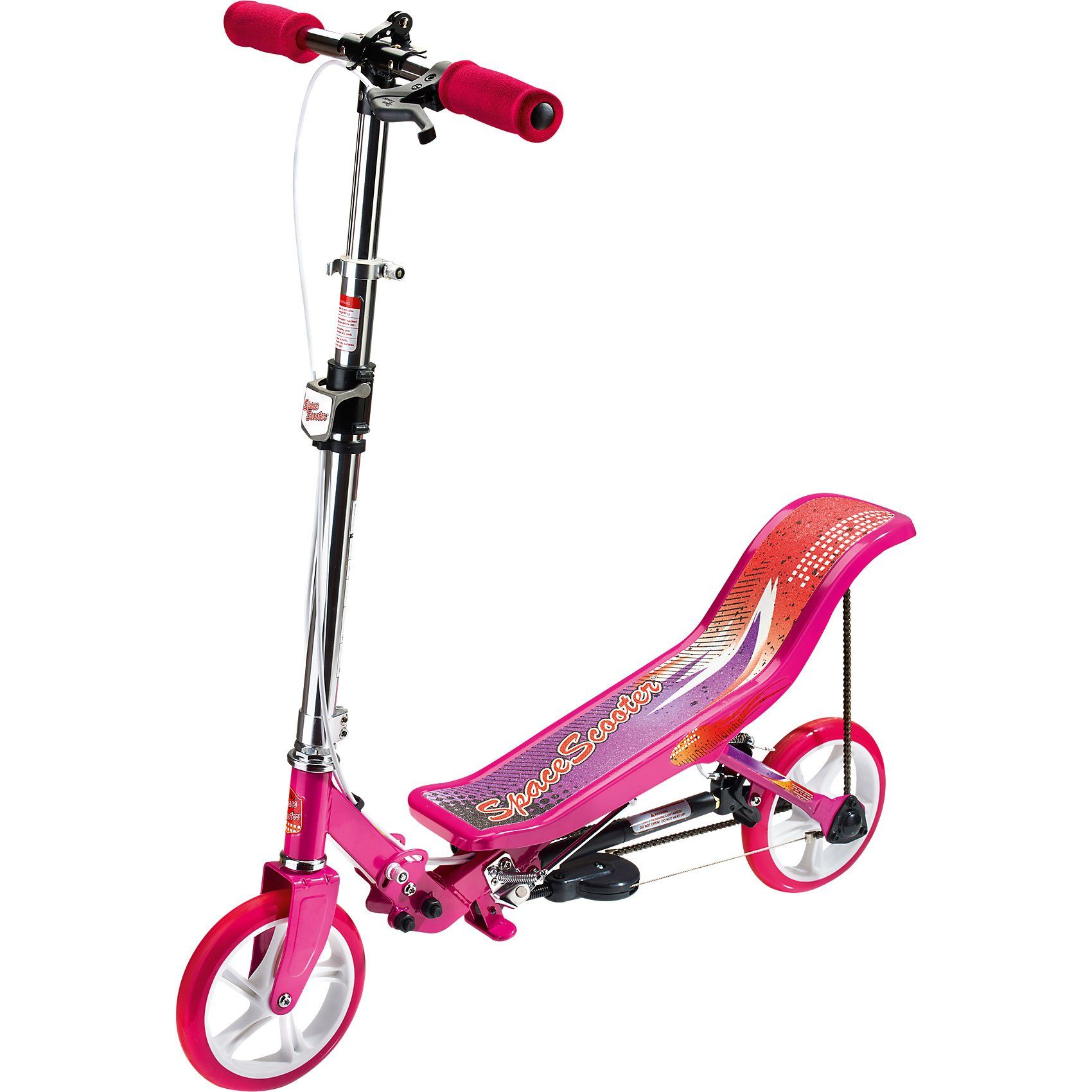 Space Scooter X 580, pink