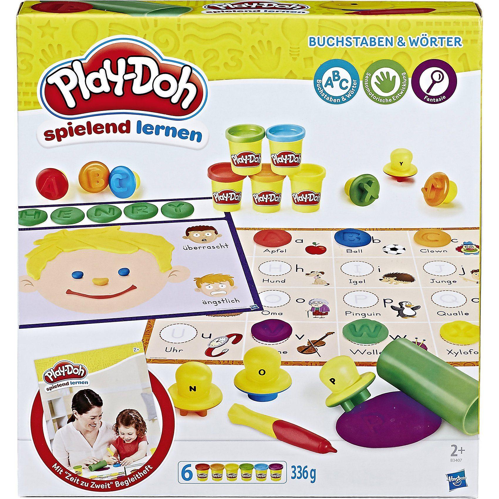 Hasbro Play-Doh Spielend Lernen Buchstaben und Wörter