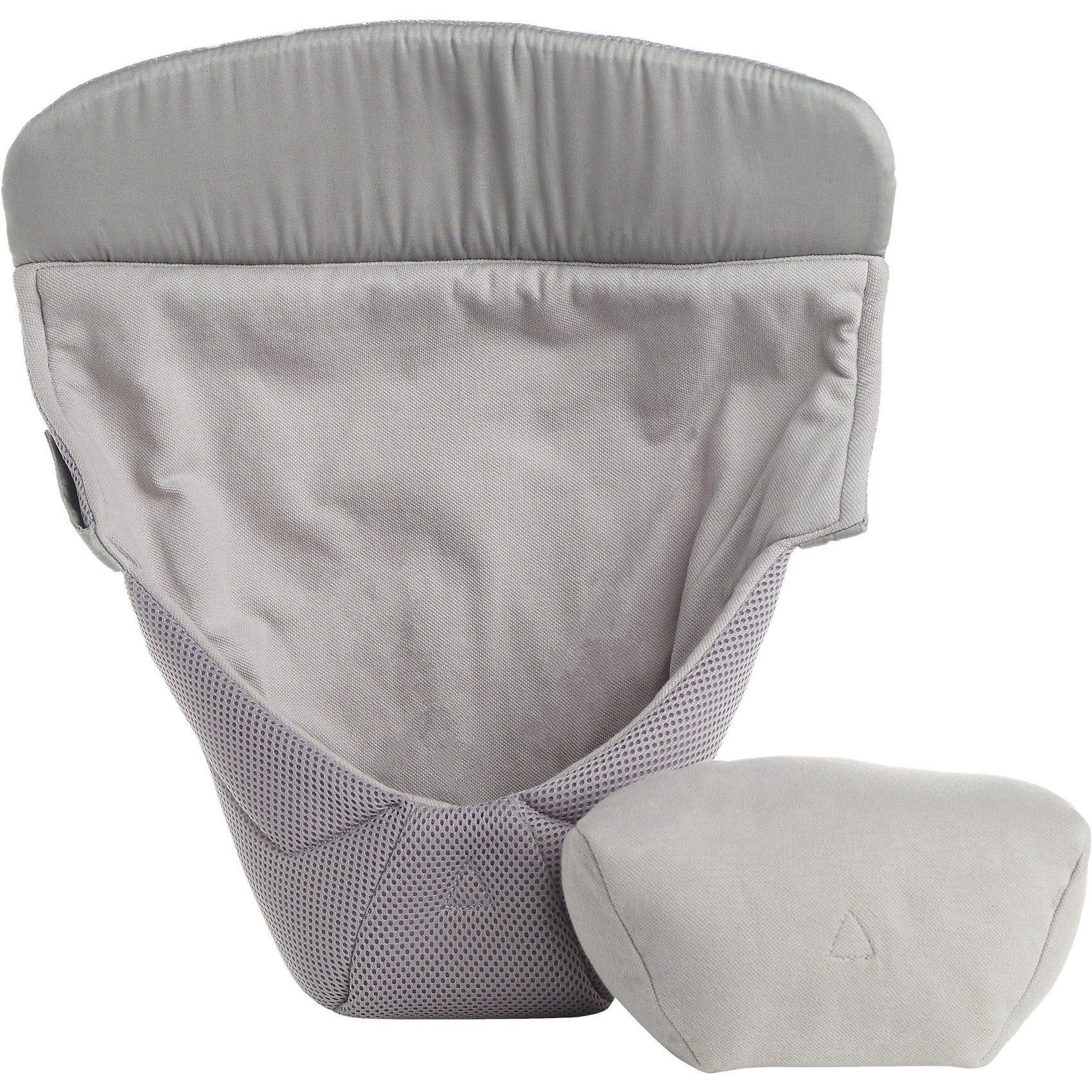 Ergobaby Neugeborenen-Einsatz Easy Snug, Cool Air Mesh, Grey