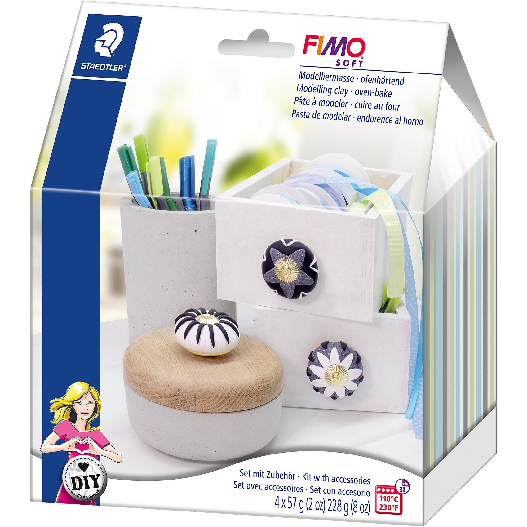 FIMO soft DIY Home Deco Möbelknöpfe