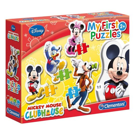 Clementoni® My first puzzles - Mickey Mouse