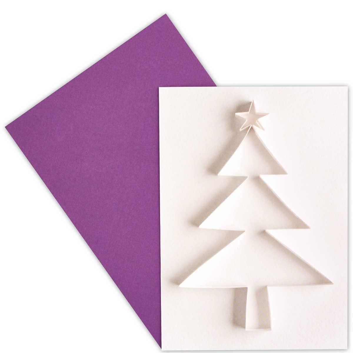 BUTLERS CARD »Baum Papier«