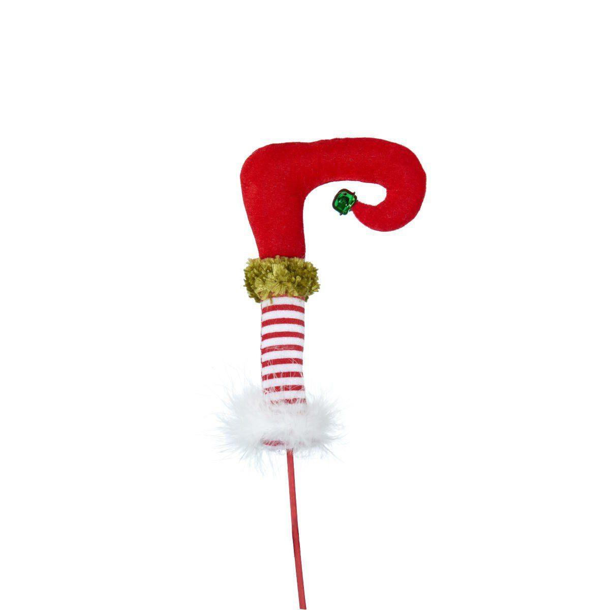 BUTLERS X-MAS »Fuß Weihnachtself auf Stick«