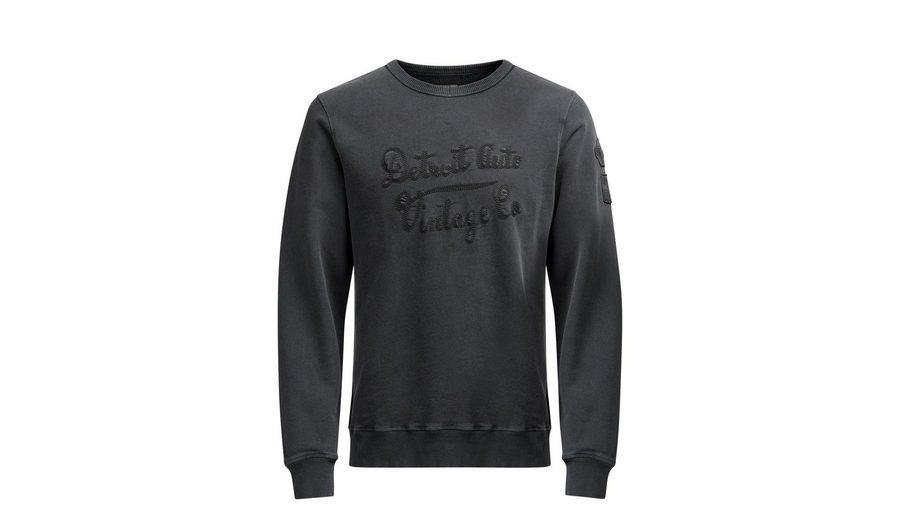 Großhandel Günstig Kaufen Shop Jack & Jones Kettenstich- Sweatshirt S6X1NBjiz