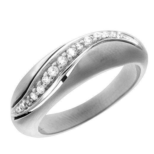 VIVANCE Ring »925/- Sterling Silber rhodiniert«