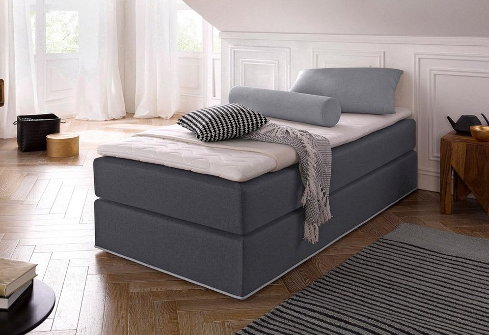 collection ab boxspringbett inkl topper bett ohne. Black Bedroom Furniture Sets. Home Design Ideas