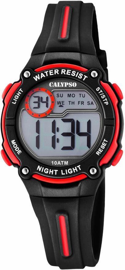 CALYPSO WATCHES Chronograph »Digital Crush, K6068/6«