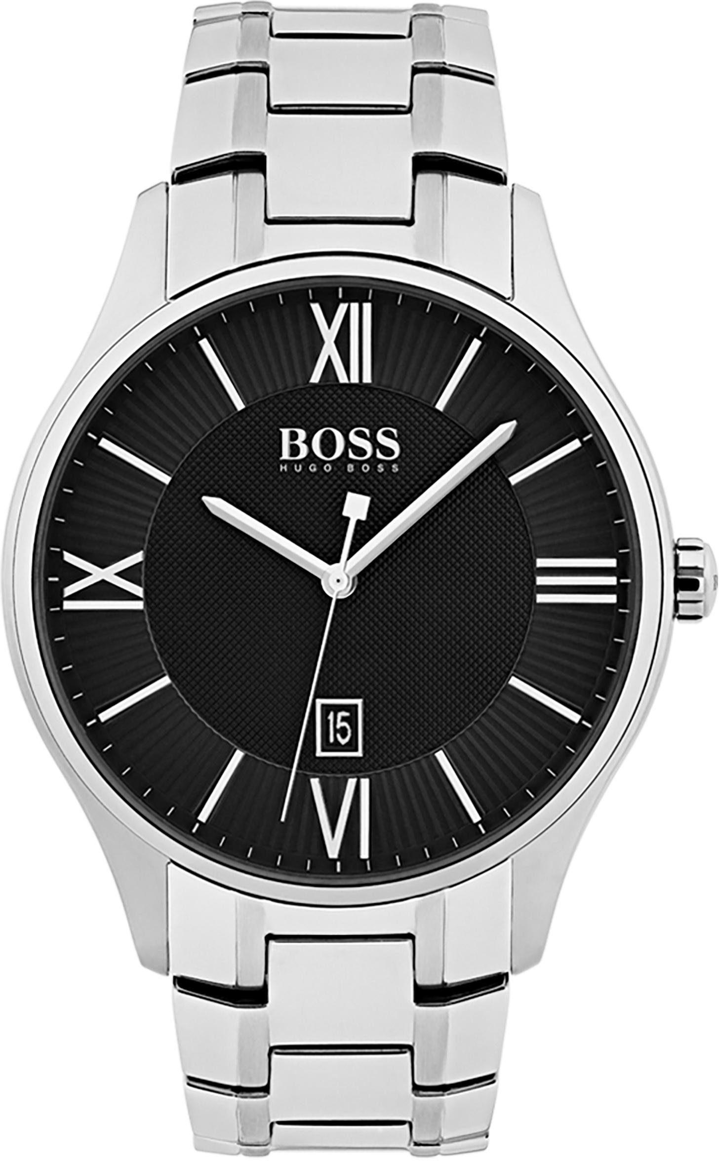 Boss Quarzuhr »GOVERNOR CLASSIC, 1513488«