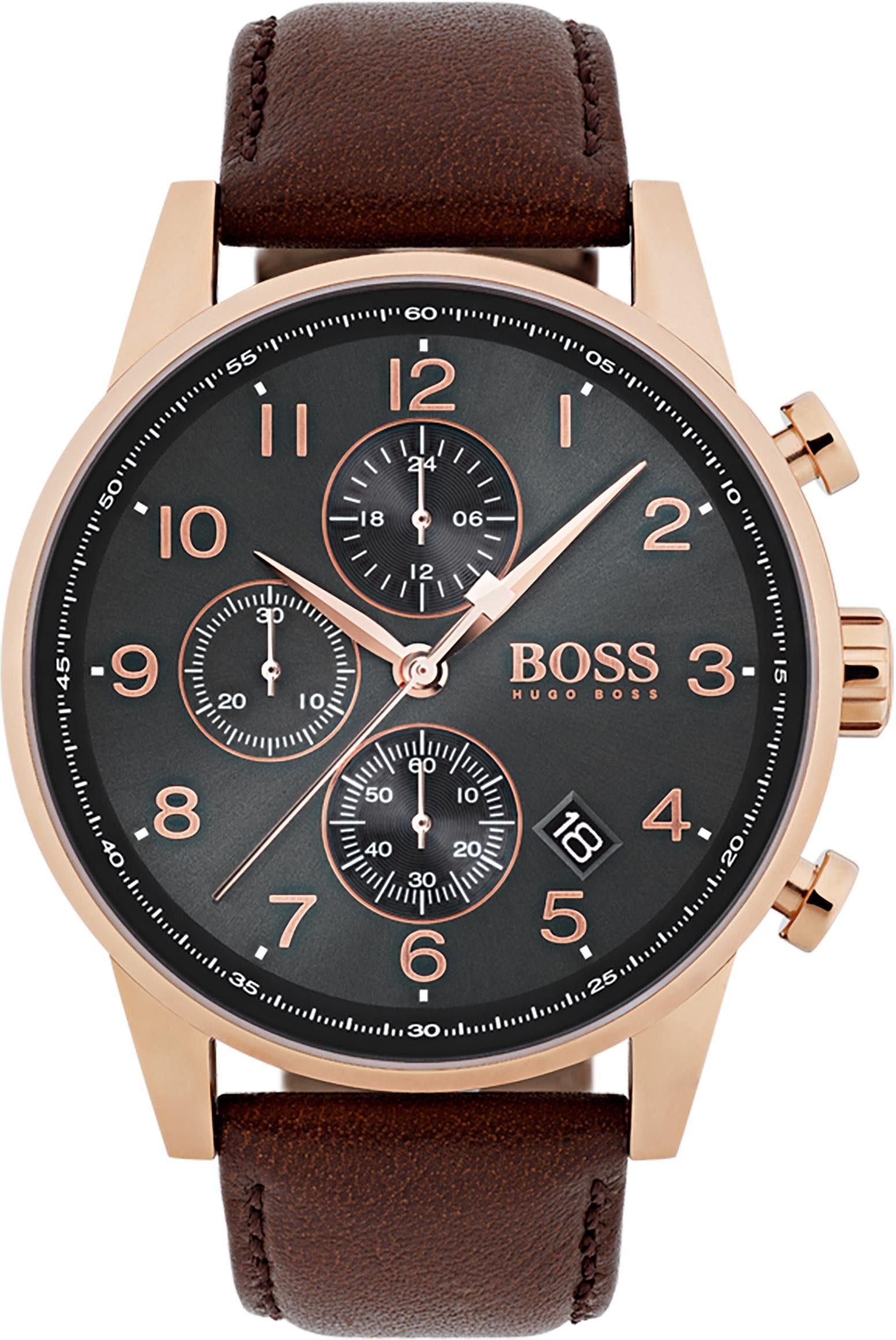 Boss Chronograph »NAVIGATOR CLASSIC, 1513496«