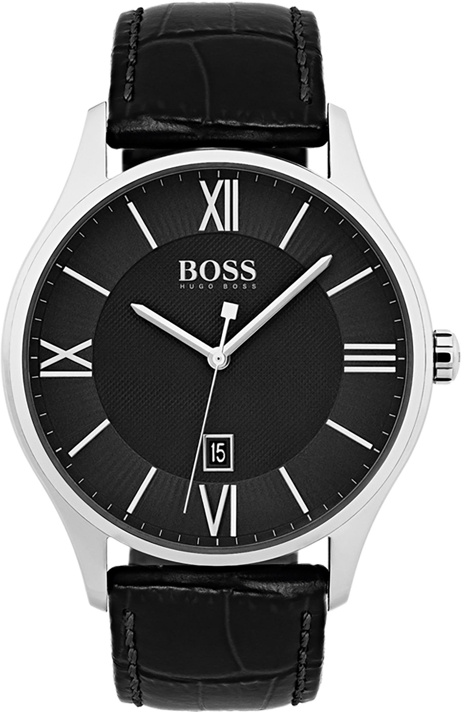 Boss Quarzuhr »GOVERNOR CLASSIC, 1513485«
