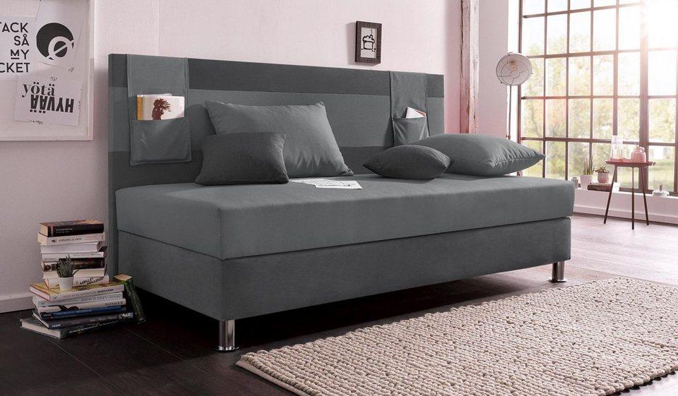 breckle polsterliege mit bettkasten online kaufen otto. Black Bedroom Furniture Sets. Home Design Ideas