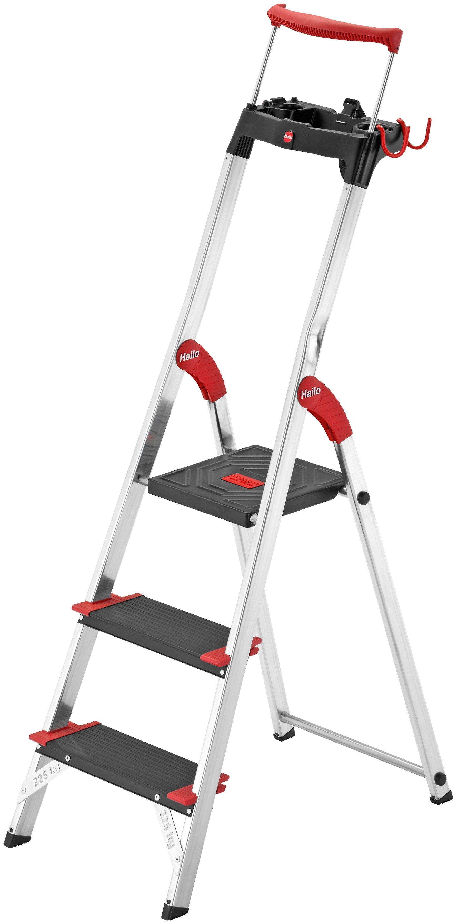 Hailo Sicherheitstrittleiter »XXR 225 EasyClix« | Baumarkt > Leitern und Treppen > Trittleiter | Hailo