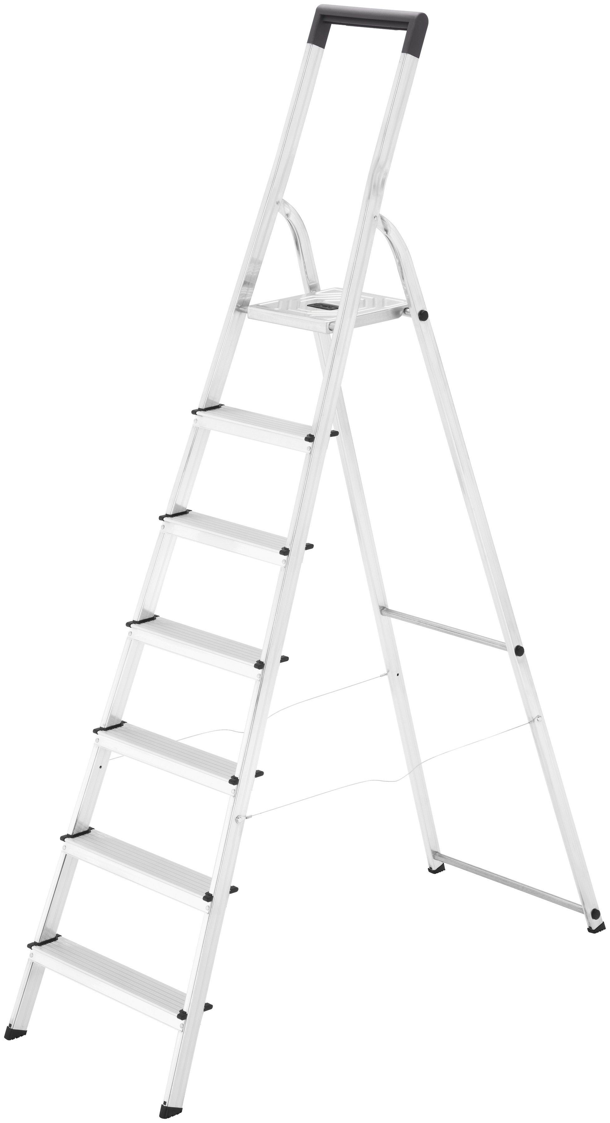 Hailo Sicherheitstrittleiter »L40 EasyClix« | Baumarkt > Leitern und Treppen > Trittleiter | Hailo