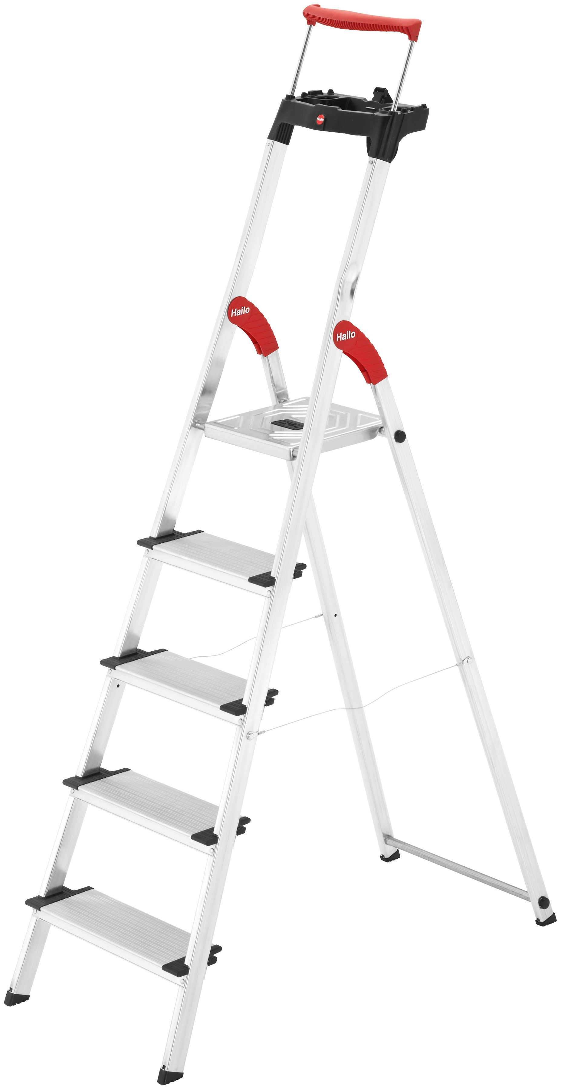 Hailo Sicherheitstrittleiter »ComfortLine XXR EasyClix« | Baumarkt > Leitern und Treppen > Trittleiter | Hailo