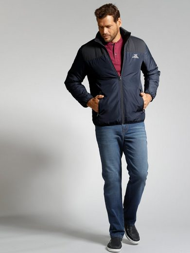 Men Plus by Happy Size Jacke Materialmix